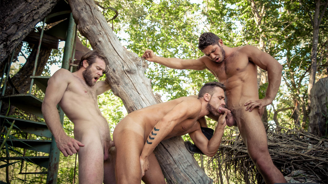 Dato Foland and Colby Keller fuck Logan Moore