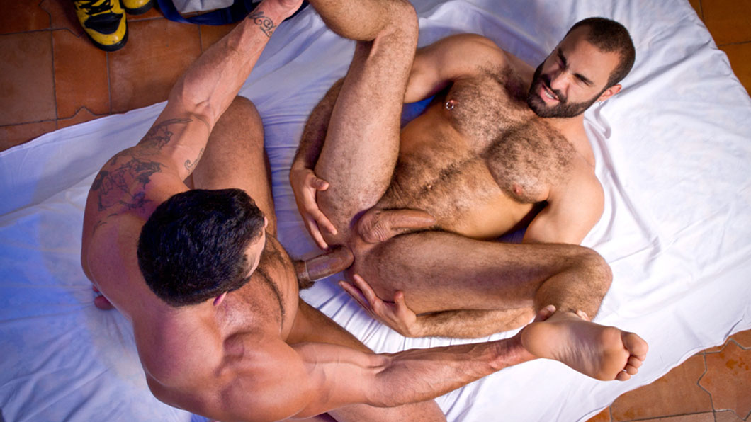 Rogan Richards pounds Paco's hole