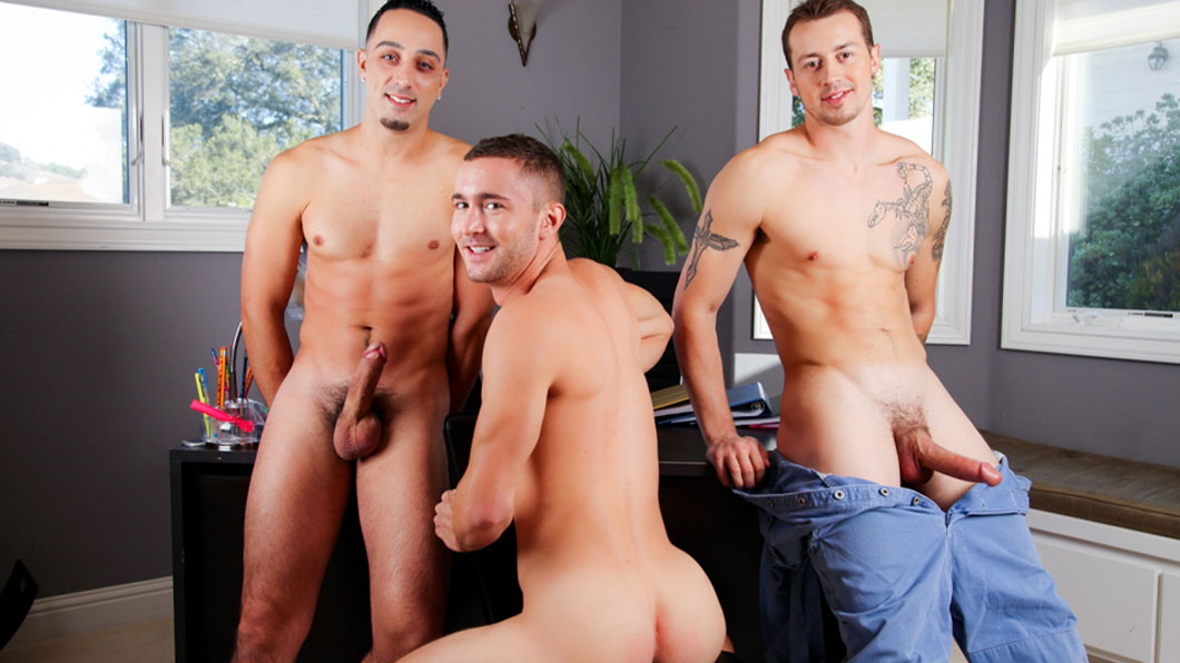 Mark Long, Andrew Fitch and Colt Rivers